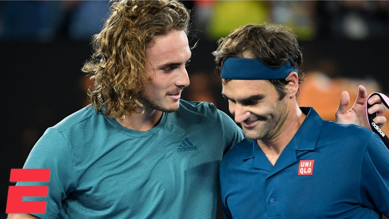 Roger Federer Loses To Stefanos Tsitsipas In 4 Sets 2019 Australian Open Highlights Youtube