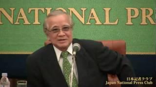 阿刀田高 日本ペンクラブ会長 2010.8.23