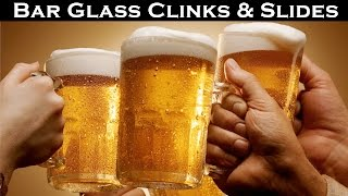 Bar Glass Clinks & Slides Sound Effect | Hi - Resolution Audio