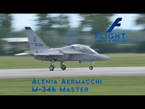Alenia Aermacchi M-346 Master Advanced Military Trainer Aircraft Light Attack