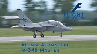 Alenia Aermacchi M-346 Master Advanced Military Trainer Aircraft Light Attack