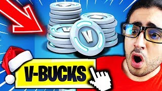 🔴FORTNITE A BIG PROMOTION OF V-BUCKS OF THE MICROSOFT On Fortnite Battle Royale!!