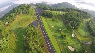 Mountain Air Drone View