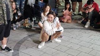 20190801 홍대 버스킹 공연 댄스팀 클락 소개 영…