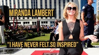 "Miranda Lambert: ""I've Never Felt More Inspired"""