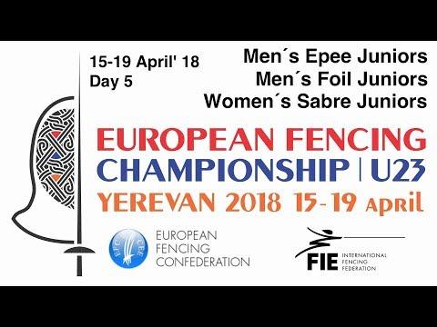 Day 05 2018 European fencing championships U23 - Finals