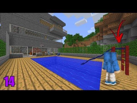 Minecraft Ultra Survival #14 - Construí a Piscina da Casa!! ‹ Manyzão#2Milhões ›