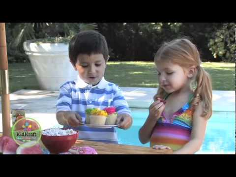 Table de jardin enfant set pique nique enfant youtube - Set table enfant ...