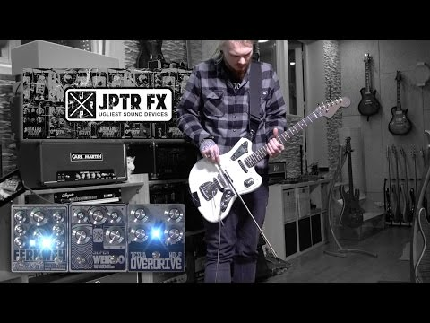 JPTR FX - Tesla Wolf, Super Weirdo & Fernweh - with Chris Jupiter