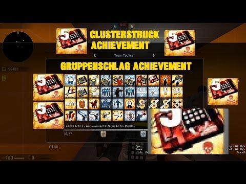 CSGO Easy Clusterstruck/Gruppenschlag Achievement Easy Method