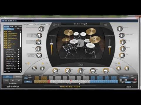 AIR Music Technology Strike v2 Demo
