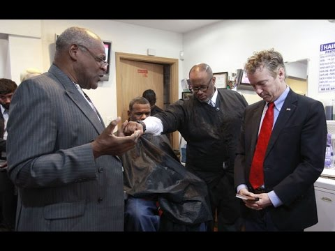 Rand Paul Meets with Black Leaders in Iowa, Talks Criminal Justice Reform