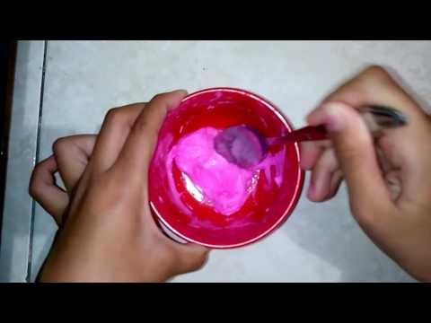 Cara membuat slime dari i clay