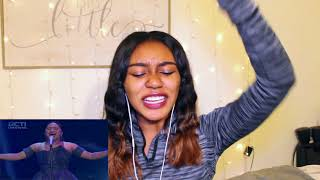 MARIA - NEVER ENOUGH (Loren Allred) - Indonesian Idol 2018   REACTION