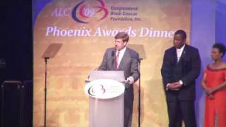 Senator Edward M. Kennedy Receives Phoenix Award at ALC