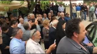 11 Οκτωβρίου 2016: Κηδεία Στυλιανού Πατακού στην Αγία Παρασκευή Αμαρίου