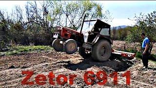 Zetor 6911 Roto brnaca 3m