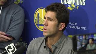 Even if you don't make a move, Bob Myers knows you still have to talk