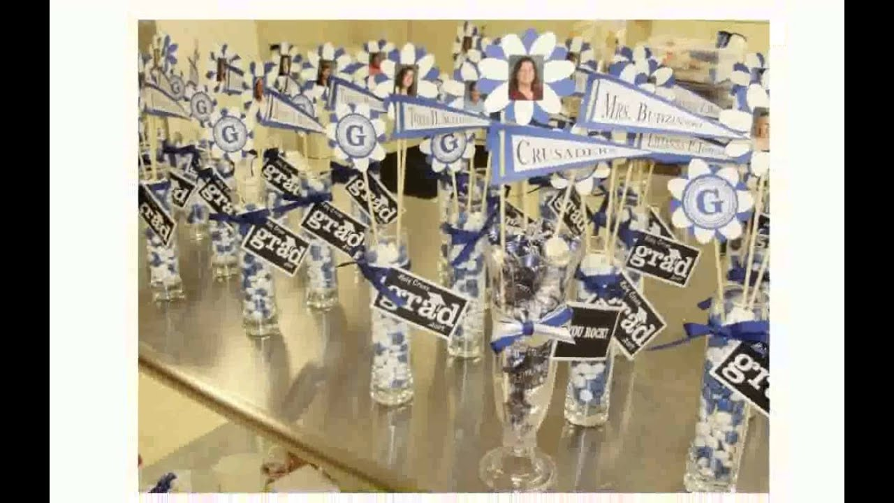 Table Decorations for Graduation & Table Decorations for Graduation - YouTube