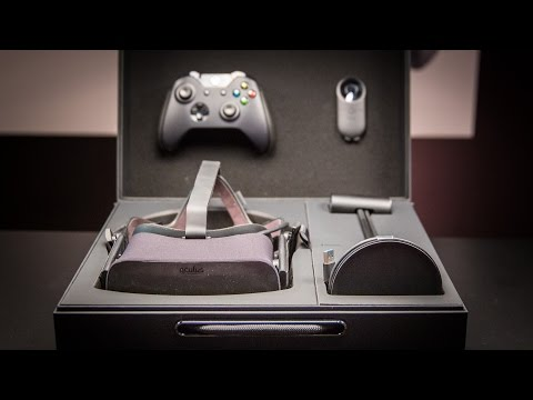 Oculus Rift Price and Hardware at CES 2016 - YouTube