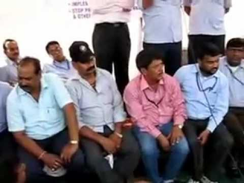Airport Authority Employees Union Hunger Strike