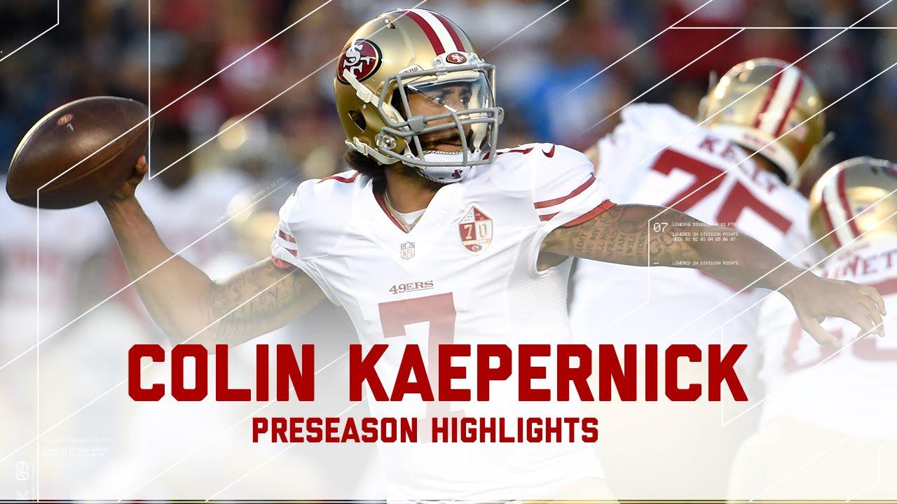 Every colin kaepernick throw run 49ers vs chargers nfl 2016 every colin kaepernick throw run 49ers vs chargers nfl 2016 preseason highlights youtube m4hsunfo