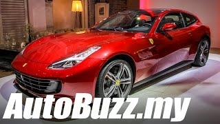 Ferrari GTC4Lusso Far East debut in Tokyo, Japan - AutoBuzz.my