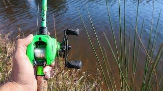 BIZARRE Catch While Bank Fishing (HUGE FISH)
