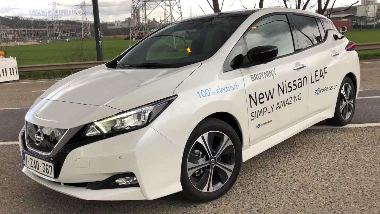 Elektrische Auto Trio Test Nissan Leaf 2018 Renault Zoe Bmw I3