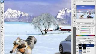 Работа со слоями - http://уроки-в-фотошопе.рф/