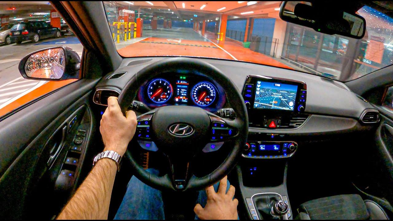 Hyundai i30 N Night Drive   POV Test Drive #690 Joe Black