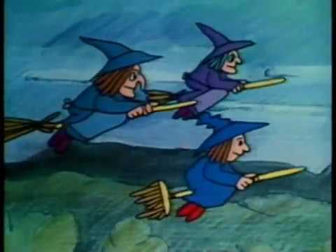 The Witch Who Was Afraid Of Witches -- Short Story Film/Animation -- 1979