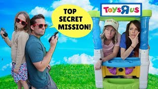 Addy & Jason Take Down the Pretend Toy Store !!! thumbnail