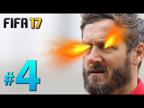 FIFA 17 Yeni Kariyer #4: DİKKAT SİNİRLERİNİZ BOZULABİLİR!