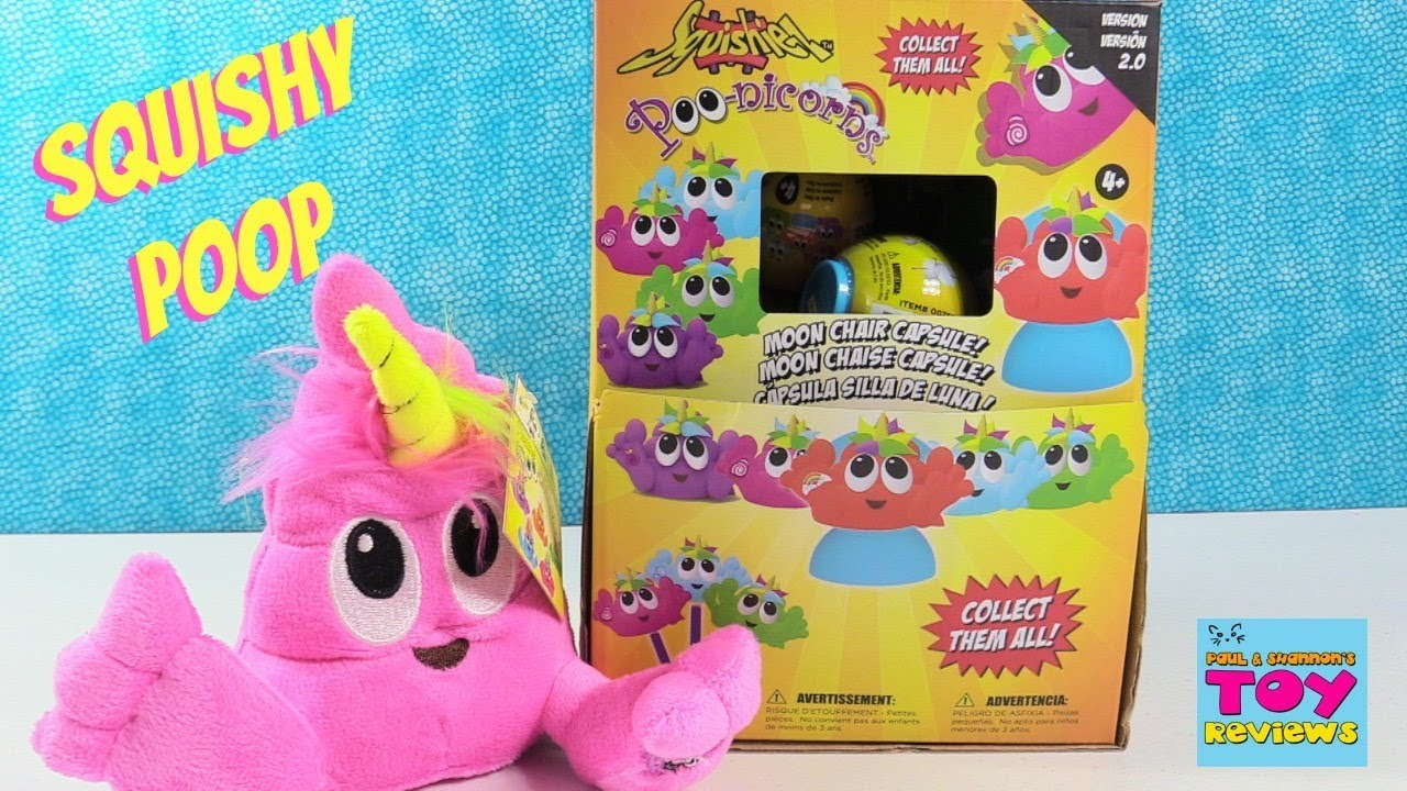 Poo Nicorns Squishiez Squishy Blind Bag Toy Review Opening