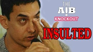 Aamir Khan INSULTED On Twitter By AIB Fans | AIB KNOCKOUT CONTROVERSY