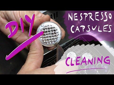 clean the capsules - nespresso capsules cleaning