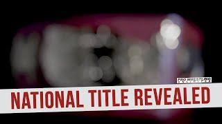 NWA Reveals Design Of The New National Title Belt