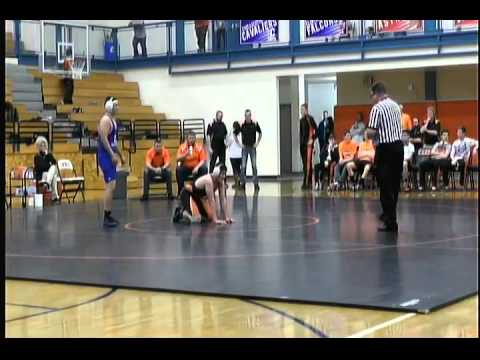 High School Wrestling  - Chillicothe @ Wilmington 01-22-2015