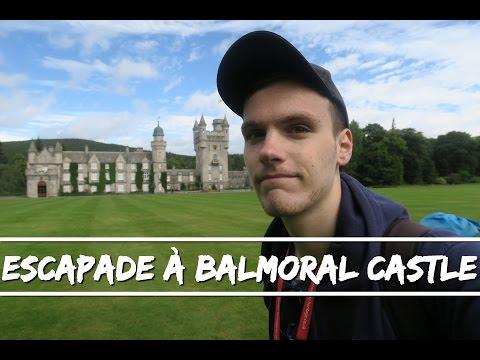 Jour 1/2 - Visite de Balmoral Castle - Highlands - Ecosse !