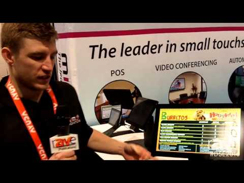 DSE 2016: Mimo Monitors Shows 15.6 Inch Android PoE Tablet for Point of Sales Applications