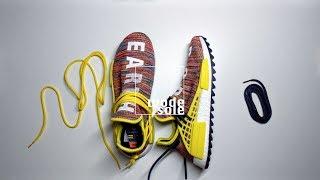 adidas x Pharrell Williams NMD HU Trail  // Lacing Tutorial