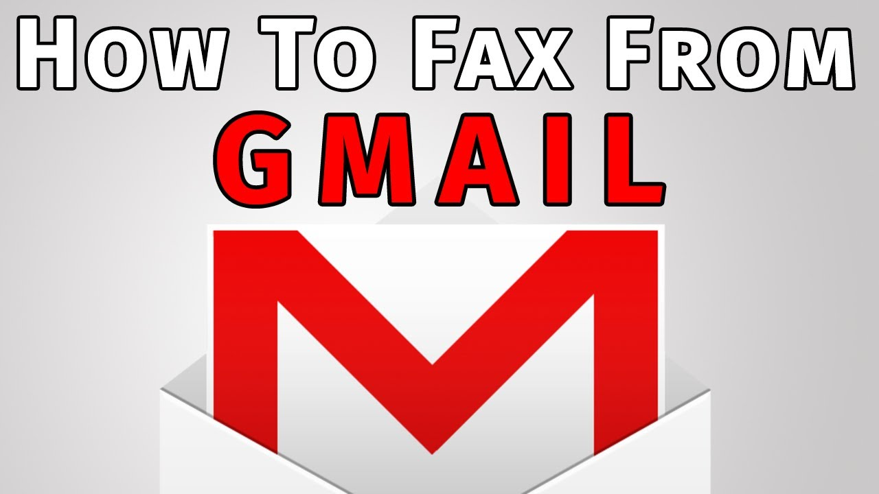 How to Send and Receive a Fax with Gmail ! how to gmail fax for ...