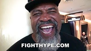 SHANNON BRIGGS EXPLAINS PICKING ANTHONY JOSHUA TO BEAT DEONTAY WILDER; HAS HIGH PRAISE FOR HIM