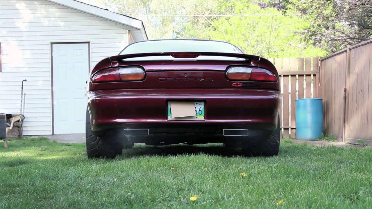 2001 Camaro Z28 Holley Flowtech Exhaust  YouTube