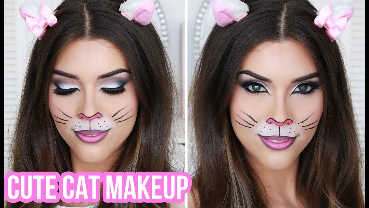 Cute & Sexy Cat Halloween Makeup Tutorial | Quick & Easy ...