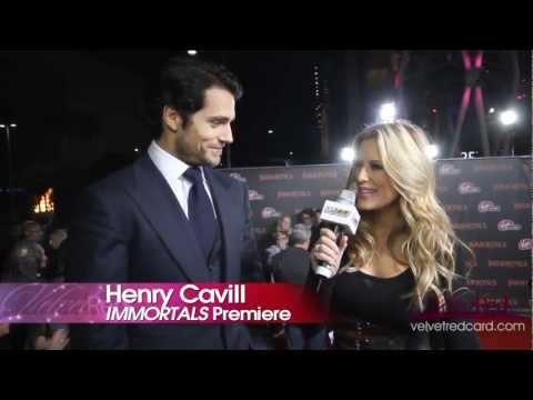 Immortals - Exclusive Interview Henry Cavill