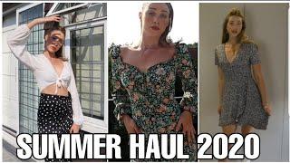 SUMMER HAUL 2020 | Nasty Gal, Zara, Bershka, Pull&Bear, I saw it First