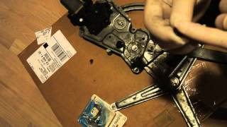 BMW Window Regulator inexpensive repair part 2 of 2