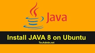 How to Install Oracle JAVA 8 on Ubuntu 16.04/14.04 & LinuxMint  18/17